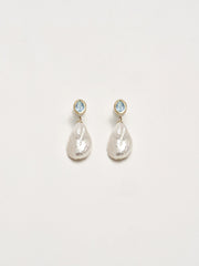 Aquamarine Formosa Earrings