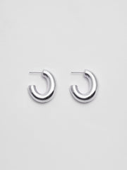 Pompa Hoops Sterling Silver Medium