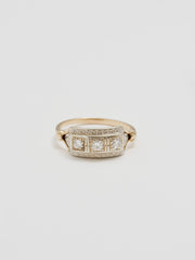 Vintage Ballroom Diamond Ring