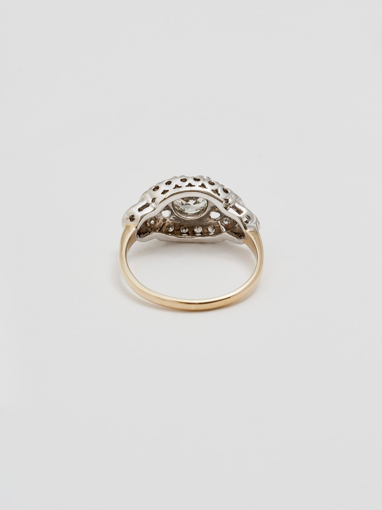 Vintage Chandelier Diamond Ring