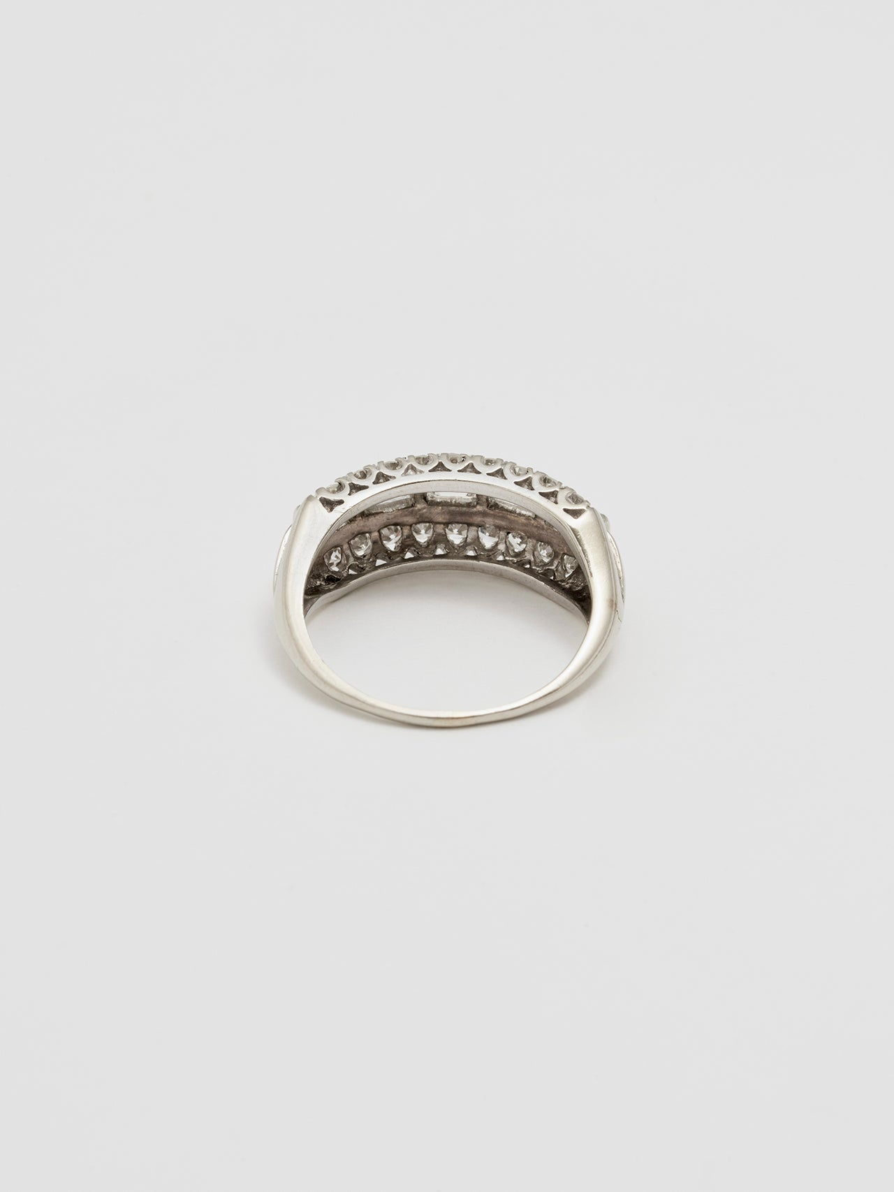 Vintage Baguette Diamond Ring