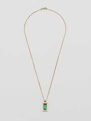 Vintage Green Tourmaline Chain
