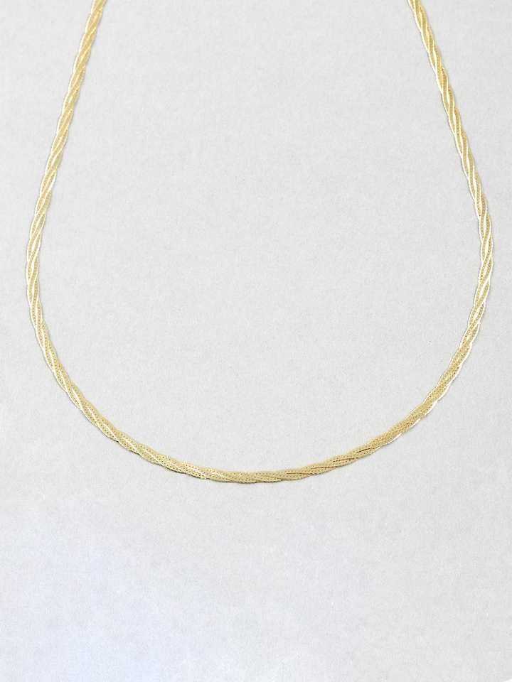 Herringbone Plait Necklace