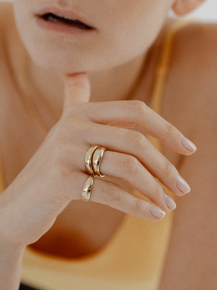 Baby Dome Ring