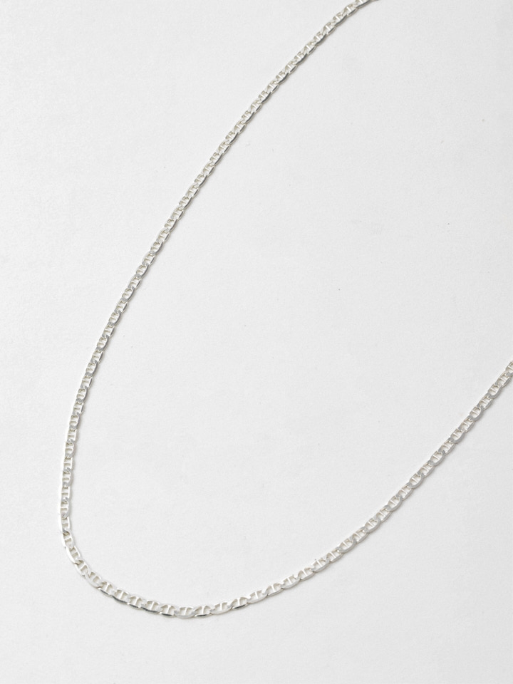 Sterling Silver XL Flat Mariner Chain