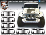Jeep Wrangler Stripes