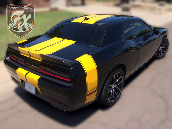 challenger dodge stripes racing rally graphics graphic
