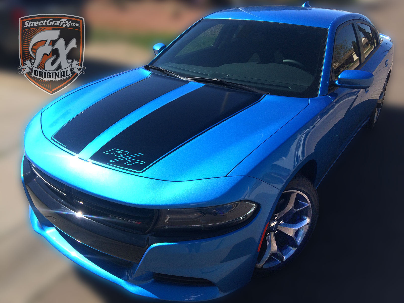 2017 Dodge Charger Rt White >> Dodge Charger Stripes, Racing Stripes & R/T Graphic kit – streetgrafx