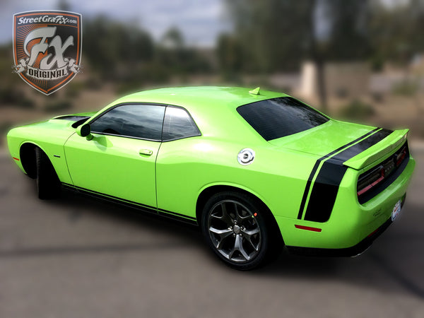 Dodge Challenger Stripes, Racing Stripes, R/T Graphics – streetgrafx