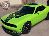 Dodge Challenger Stripes
