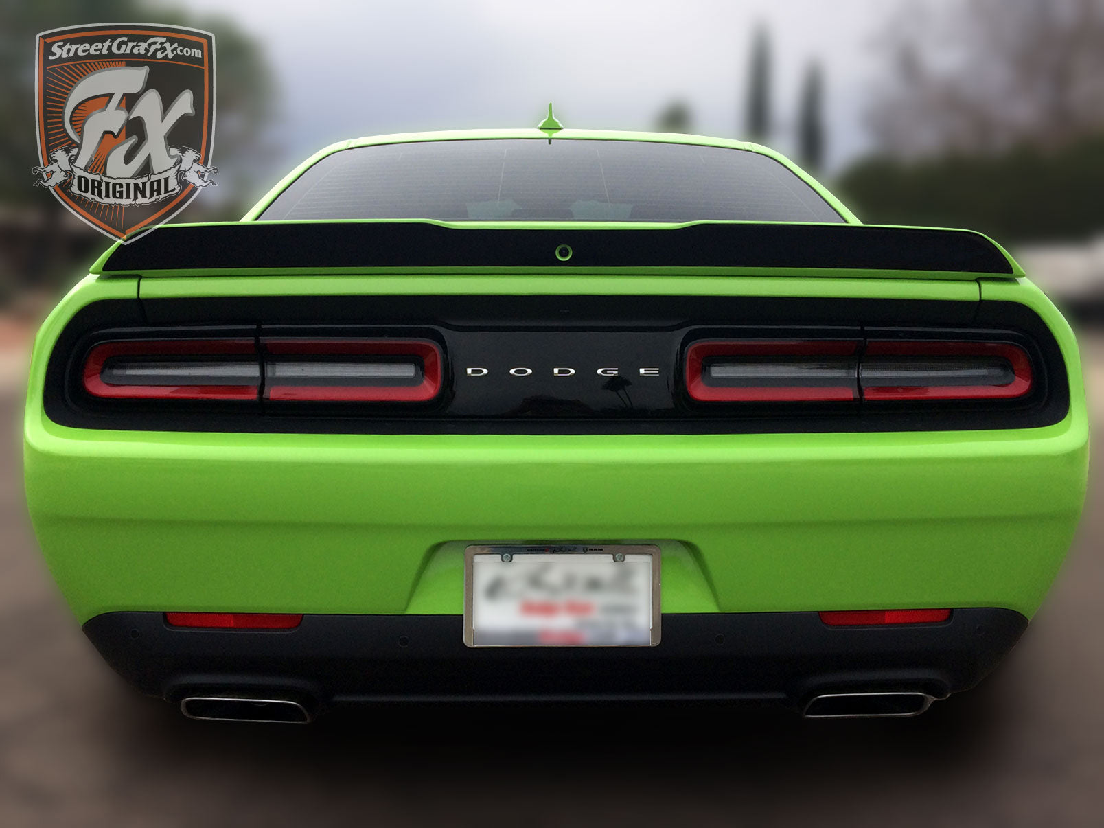 Dodge Challenger Stripes Racing Stripes R T Graphics Streetgrafx