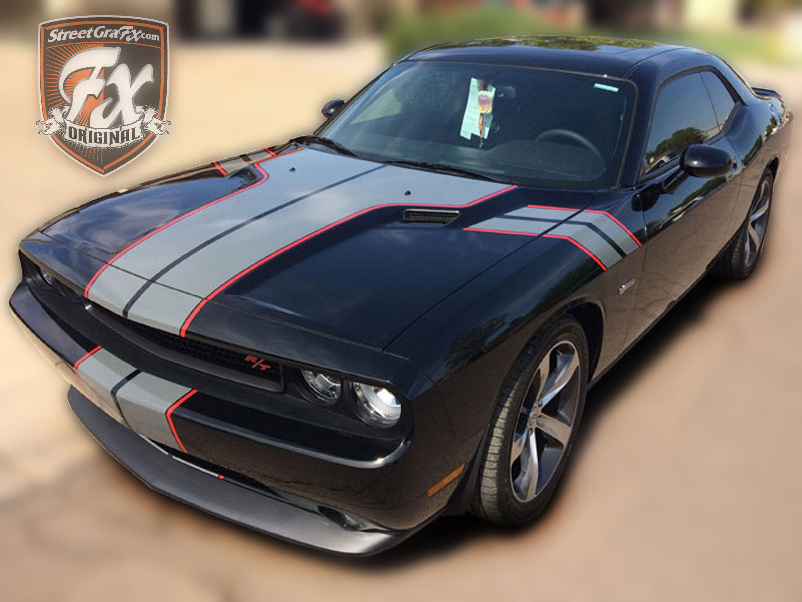 Dodge Charger Rt For Sale >> Dodge Challenger Stripes, Racing Stripes, R/T Graphics – streetgrafx