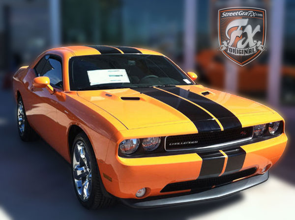dodge challenger stripes racing stripes rt graphics streetgrafx