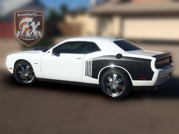 Dodge Challenger Stripes, Racing Stripes, R/T Graphics ...
