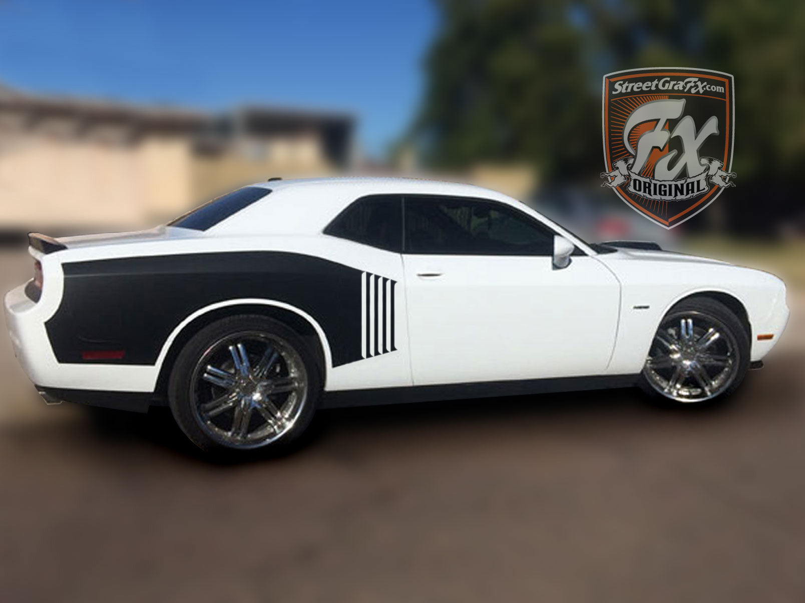 2010 Dodge Challenger For Sale >> Dodge Challenger Stripes, Racing Stripes, R/T Graphics – streetgrafx
