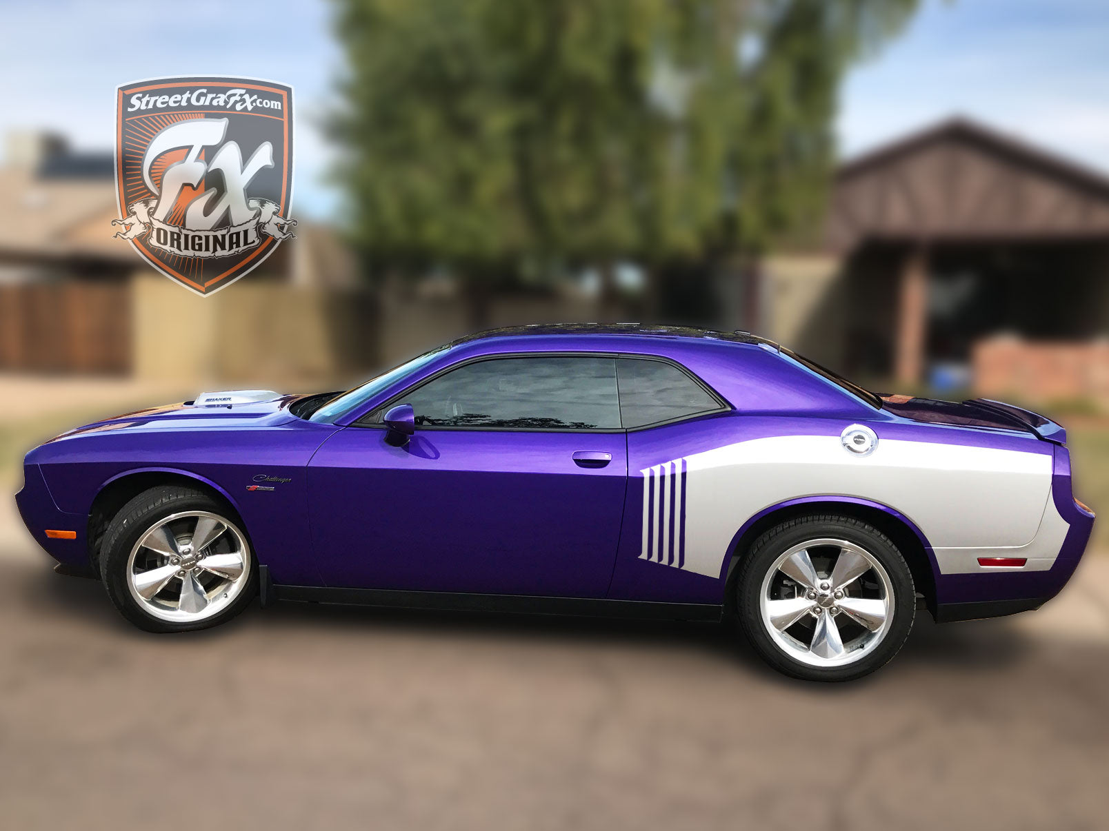 Dodge Challenger Stripes Racing Stripes RT Graphics