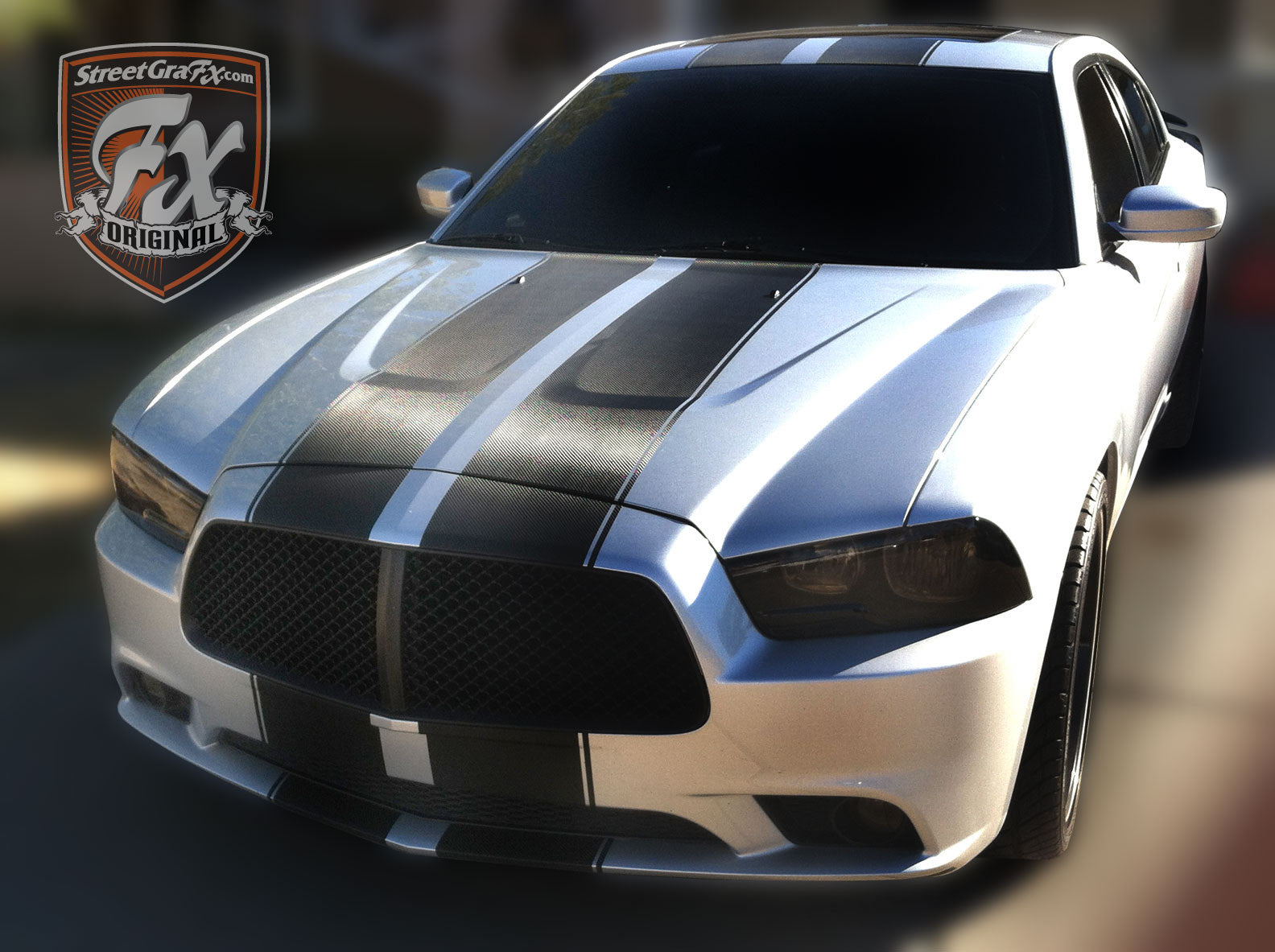 2014 Dodge Challenger For Sale >> Dodge Charger Stripes, Racing Stripes & R/T Graphic kit ...