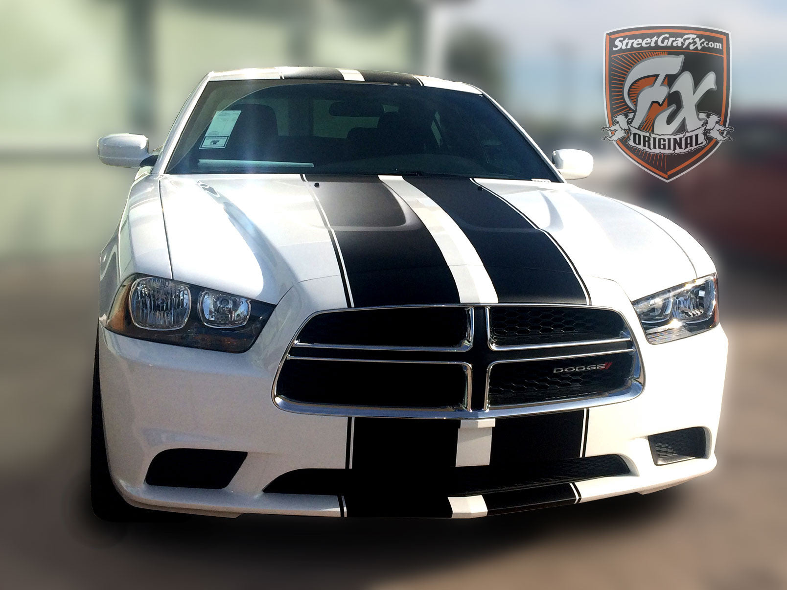 Dodge Charger Stripes Racing Stripes & R T Graphic kit – streetgrafx