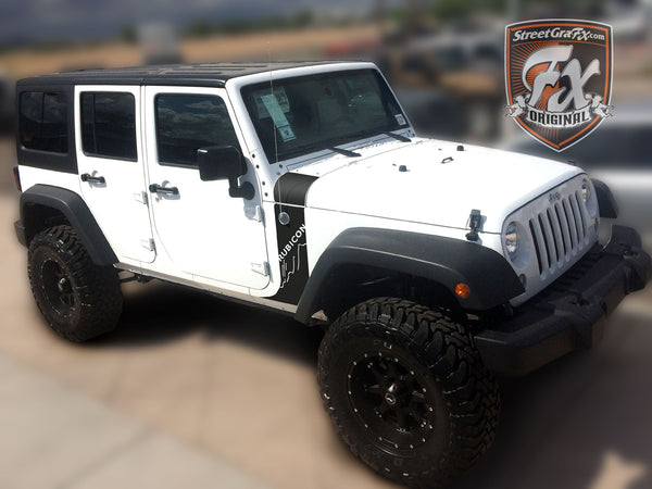Jeep Wrangler Graphics, Wrangler Stripes & JK Graphics ...