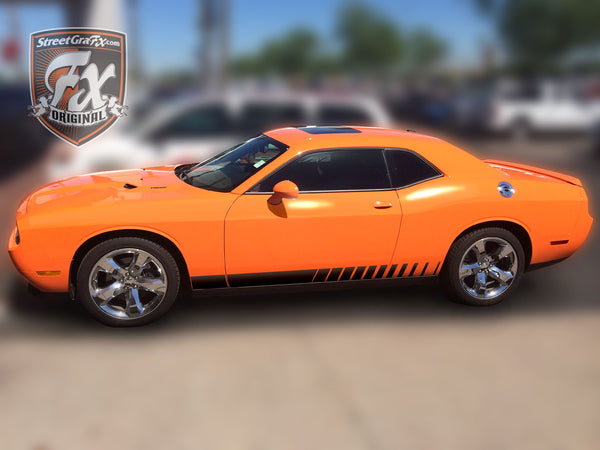 2017 Dodge Dart >> Dodge Challenger Stripes, Racing Stripes, R/T Graphics ...