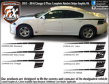 "2015-2019 Dodge Charger Hatchet Complete Graphic Kit ""Left & Right Sides"""