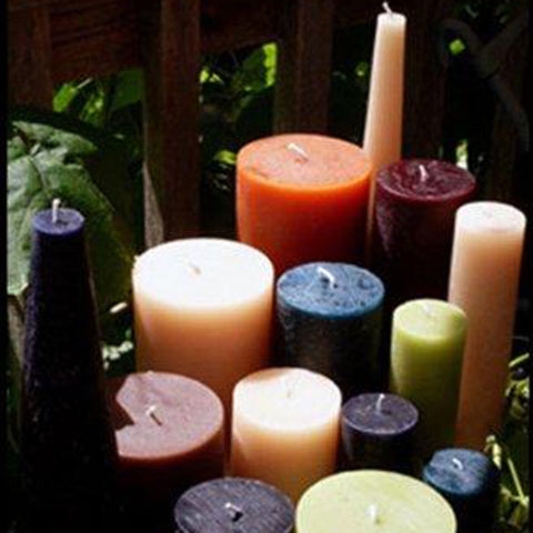 Rustic Pillars | Fanny Bay Candle Company