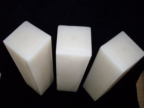 Square Pillars | Fanny Bay Candle Company