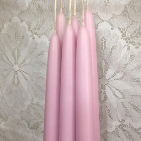 "7/8""D x 12""H, Classic Tapers, 6 pair (12 singles), 24 colours, fragrance free - Fanny Bay Candle Company"