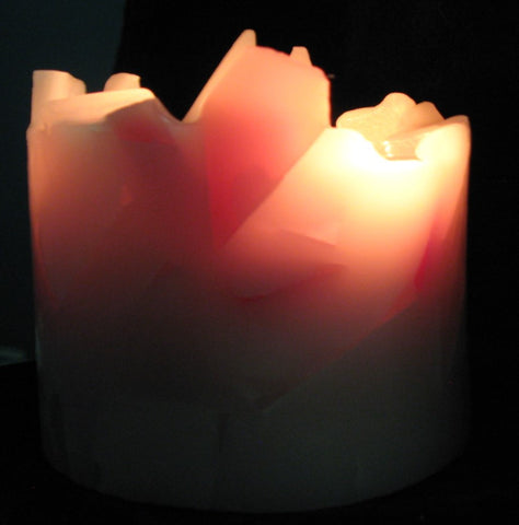 "Round 3 Wick, 5D x 3""H, Glimmers & Shimmers, Scented"