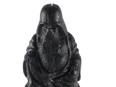 "Dark Budda, Black, 2 1/2""D x 4""H, fragrance free only - Fanny Bay Candle Company"