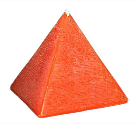 Pyramids, 25 solid colours & 3 sizes, fragrance free - Fanny Bay Candle Company