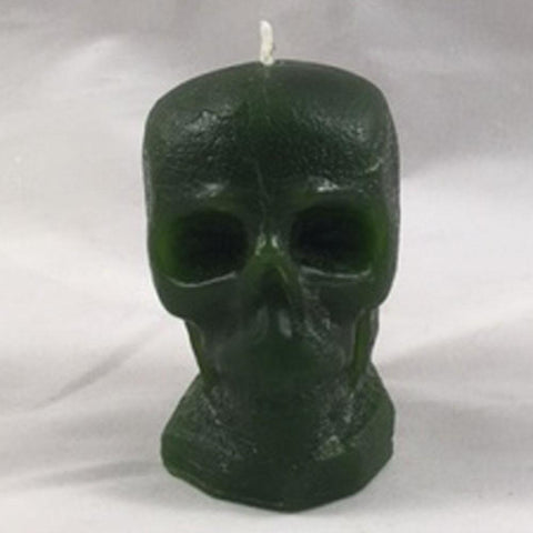 "Skulls, 9 colours, 2 1/2""H, fragrance free only - Fanny Bay Candle Company"