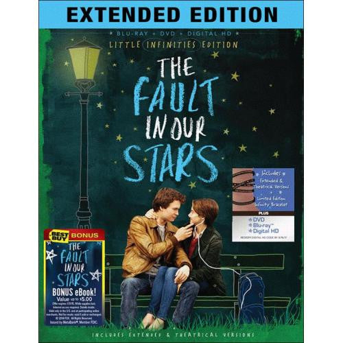The Fault in Our Stars (Extended Edition ) (Bilingual) [Blu-ray] Mint / Used