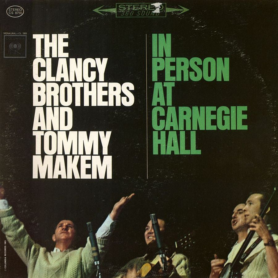 Clancy Brothers & Tommy Makem: In Person At Carnegie ( Clearance Vinyl )