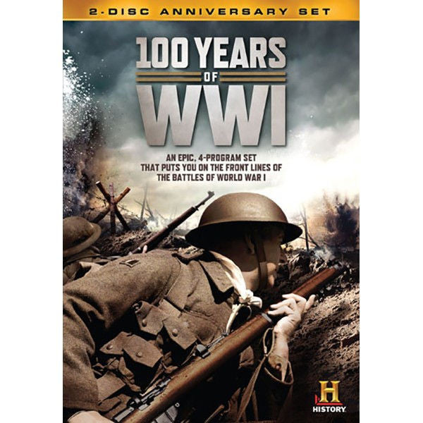 100 years of ww1 Dvd - New / Sealed