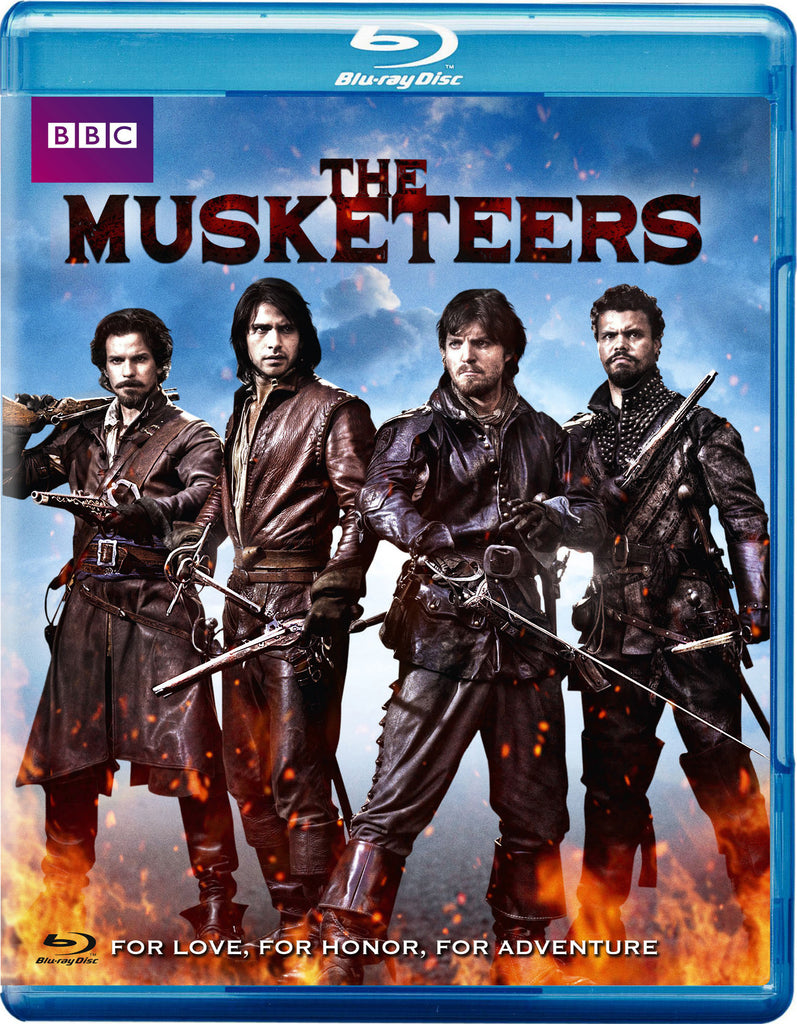 Musketeers: Season One [Blu-ray] New / Sealed