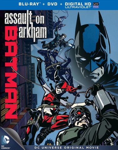 Batman: Assault on Arkham [Blu-ray] New / Sealed
