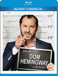 Dom Hemingway (Bilingual) [Blu-ray + DVD] Mint / Used