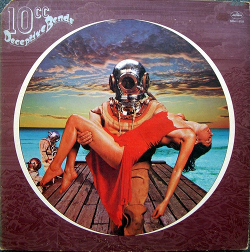 10cc ‎– Deceptive Bends 1977 Rock ( US Release )