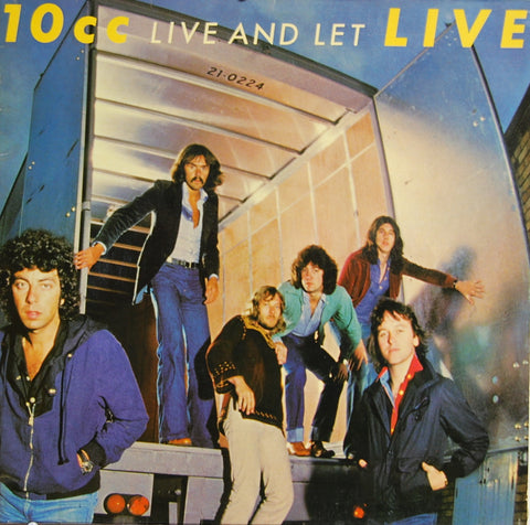10CC - Live and Let Live  - 1977( 2 Lps ) Classic Rock (vinyl)