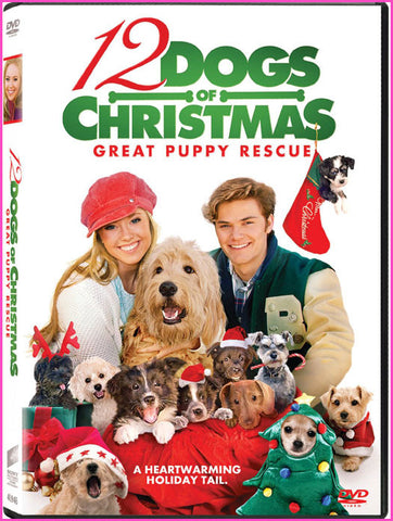 12 Dogs of Christmas: Great Puppy Rescue Dvd - New Sealed