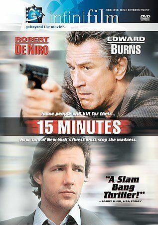 15 Minutes (Infinifilm Edition) [DVD] Used Mint