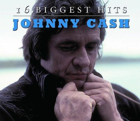16 Biggest Hits [Audio CD] Cash, Johnny.  Used Mint