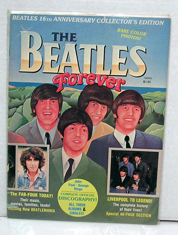 1978 The Beatles Forever 16th Anniversary Collector's Edition Magazine (used magazine)