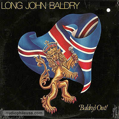 Long John Baldry- Baldry's Out !- 1979 Blues Rock (vinyl)