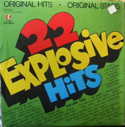 22 Explosive Hits - Volume Two - James Brown ,Al Green , April Wine ++