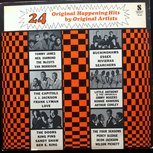 24 Original Happening Hits By Original Artists- Rock, Funk / Soul, Pop (Clearance Vinyl)
