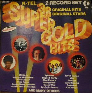 36 Super Gold Hits - 2 lps - 1976 -Classic Rock - Deep Purple ,Faces, The Guess Who,Alice Cooper + (vinyl)