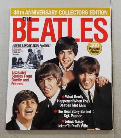 40th ANNIVERSARY The BEATLES COLLECTORS EDITION V23 (used rare magazine)