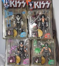 4 KISS ULTRA ACTION FIGURES Complete set, 1997 McFarlane Toys ( NIB ) 1st issue